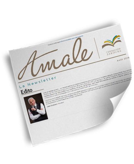 Newsletter Amale – Août 2016