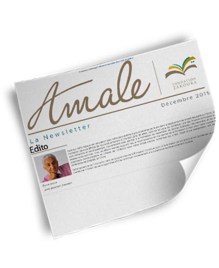 Newsletter Amale – Déc 2015